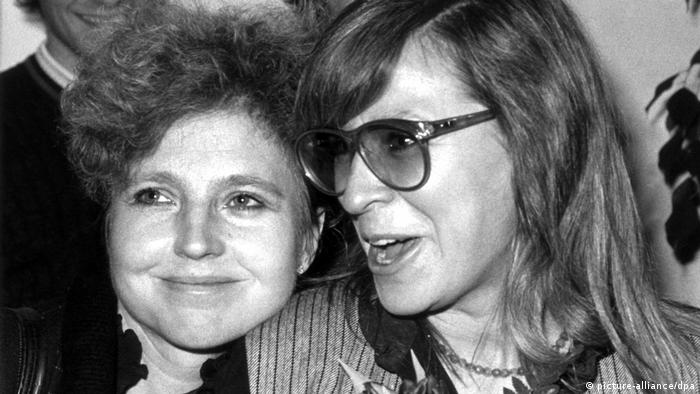 Hanna Schygulla and Margarethe von Trotta (picture-alliance/dpa)