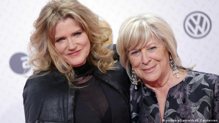 Barbara Sukowa and Margarethe von Trotta (picture-alliance/dpa/J. Carstensen)