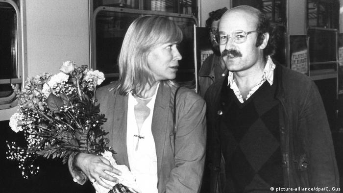 Margarethe von Trotta und Volker Schlöndorff in historischer Aufnahme (picture-alliance/dpa/C. Gus)