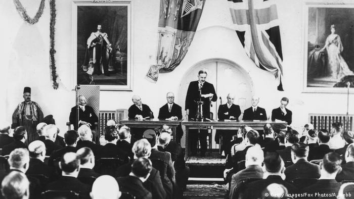 Palästina Peel Kommission 1936