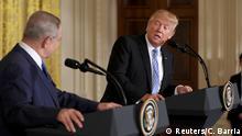 Washington Treffen Trump und Netanjahu