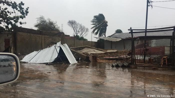 Mosambik Inhambane Sturm Dineo (DW/L. da Conceição)