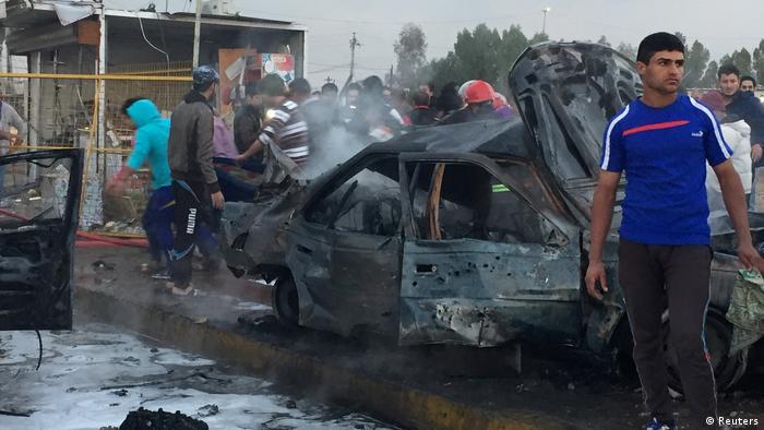 Irak Bagdad Bomben Anschlag (Reuters)