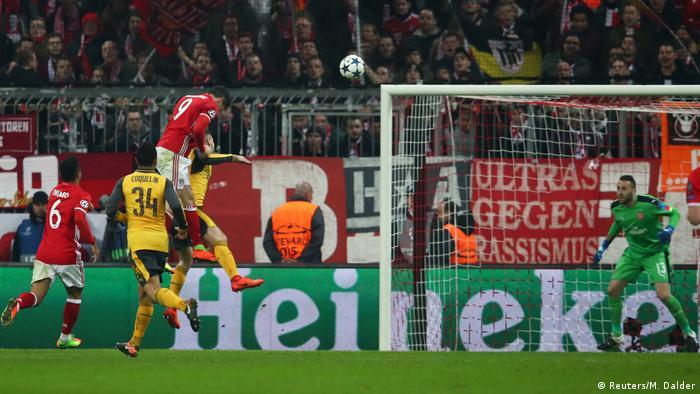 UEFA Champions League | FC Bayern München v Arsenal FC Tor 2:1 Lewandowski