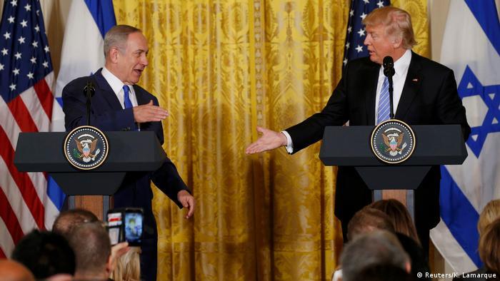 USA Israel | Benjamin Netanjahu bei Donald Trump in Washington