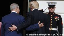 USA Israel | Benjamin Netanjahu bei Donald Trump in Washington