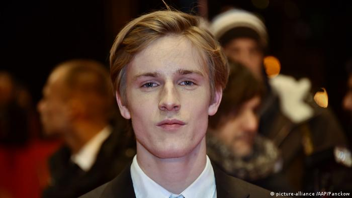 Berlinale 2017- Louis Hofmann vom Film 'The Party' (picture-alliance /AAP/Panckow)