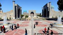 Usbekistan Samarkand (picture-alliance/Photoshot)