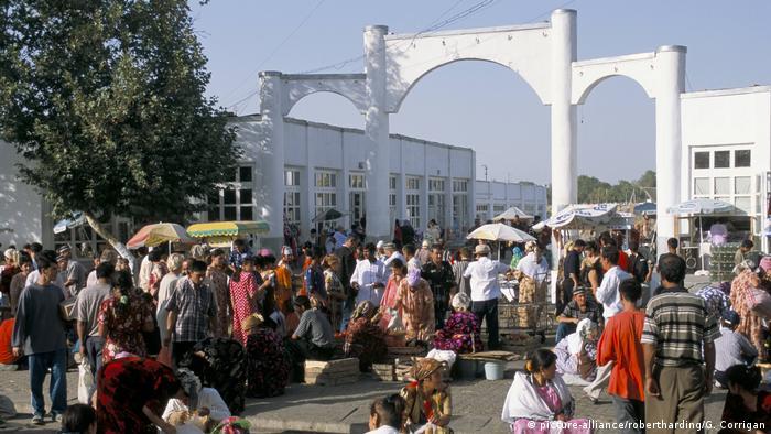 Рынок. Самарканд, Узбекистан.