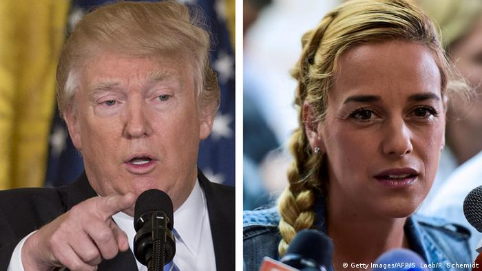Kombobild Trump - Tintori (Getty Images/AFP/S. Loeb/R. Schemidt)