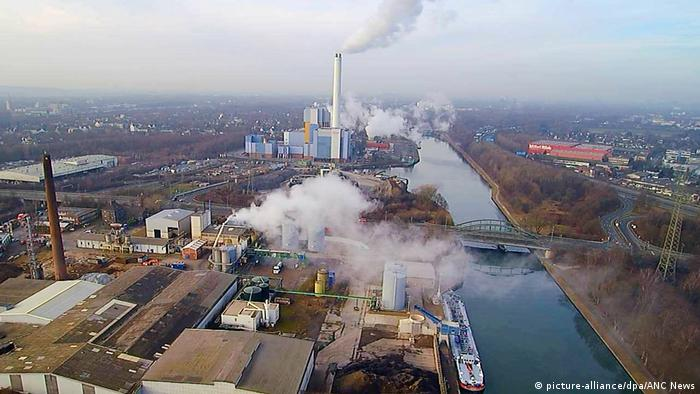 Chemical plants in Oberhausen (picture-alliance/dpa/ANC News)
