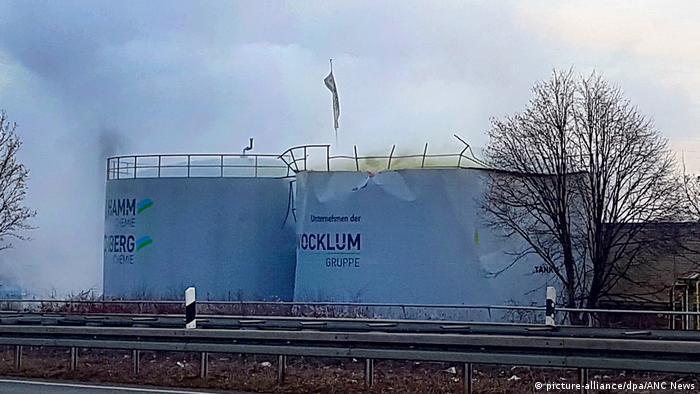 Deutschland Zwischenfall in einem Chemiebetrieb in Oberhausen (picture-alliance/dpa/ANC News)