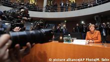 Deutschland Merkel vor dem NSA Untersuchungsausschuss