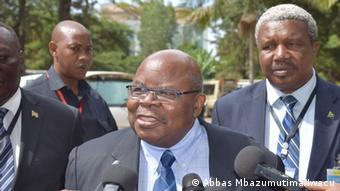 Der frühere Präsident Tansanias Benjamin Mkapa