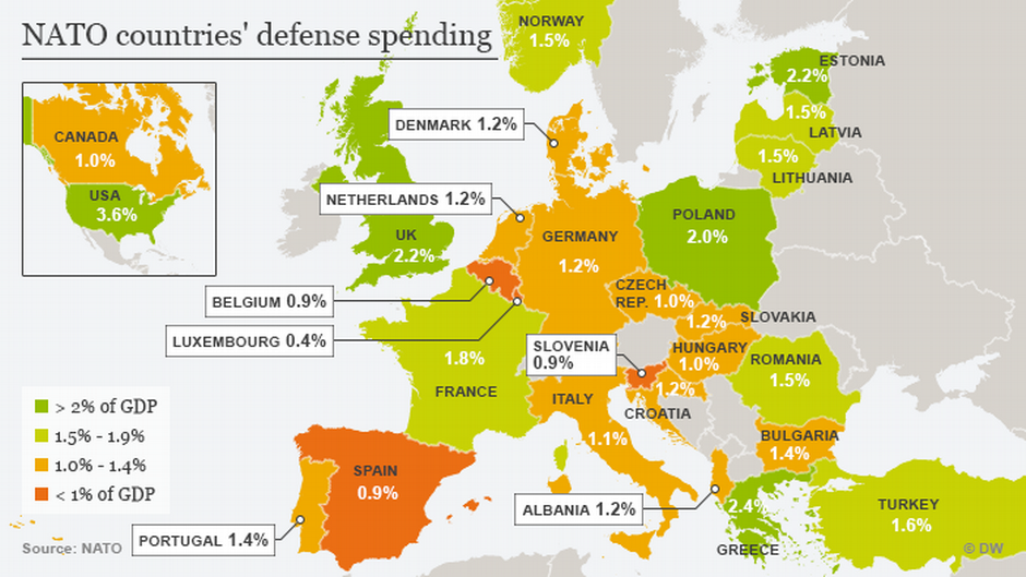 How Does Germany Contribute To Nato In Depth Dw 09