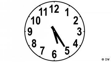 Clockface, time: 5:25