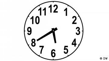 Clockface, time: 5:40