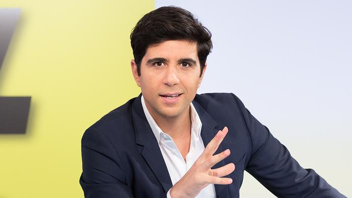 L'animateur Abdul Karim de l'émission JafaarTalk
