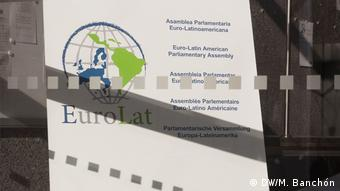 Eurolat - Logo der Euro-Lateinamerikanischen Versammlung
