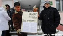 Brest gegen Schmarotzer Steuer, Weißrussland, Februar 2017