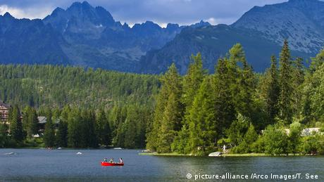 Slowakei Strbske Pleso-See - Hohe Tatra (picture-alliance /Arco Images/T. See )