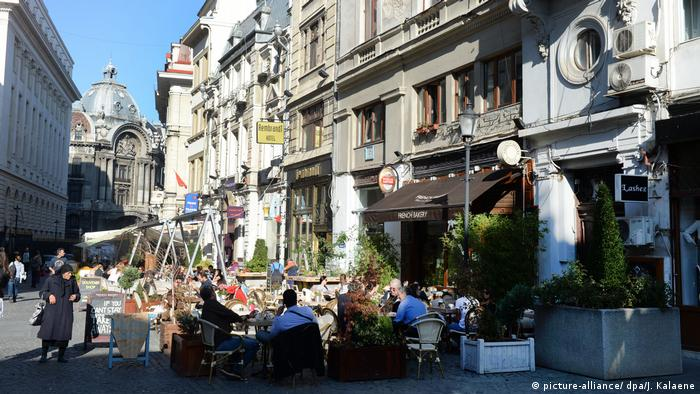 Bucharest historical city center (picture-alliance/ dpa/J. Kalaene)