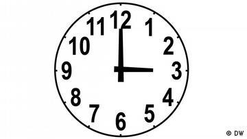 Viertel Sieben Uhrzeit
