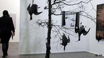 Game Bird Group, an installation by Mark Dion at the Art Forum in Berlin