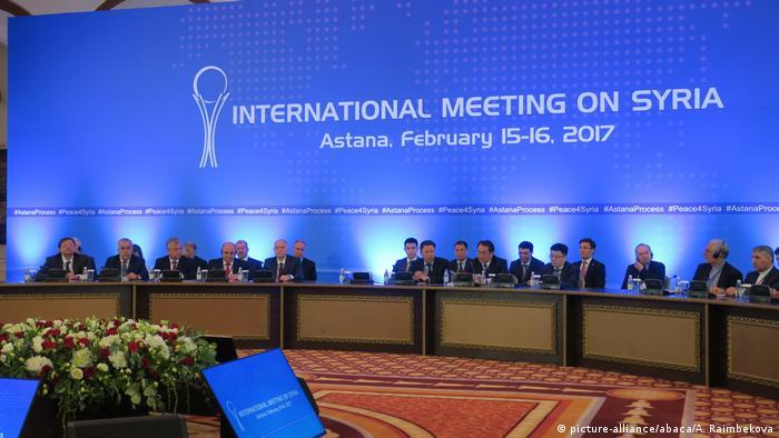 Kasachstan Syrien Friedensgespräche in Astana (picture-alliance/abaca/A. Raimbekova)