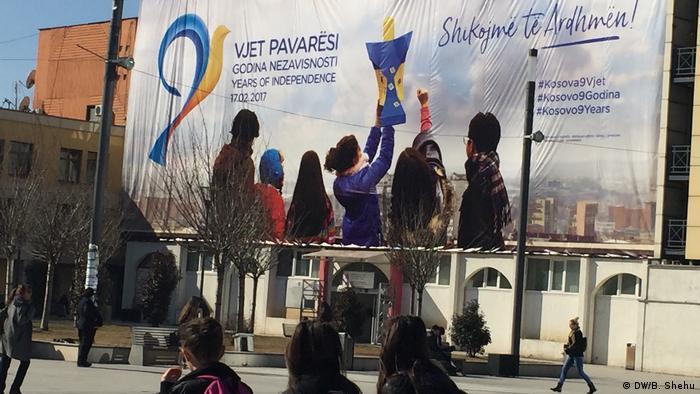 Feier der Unabhängigkeit des Kosovo