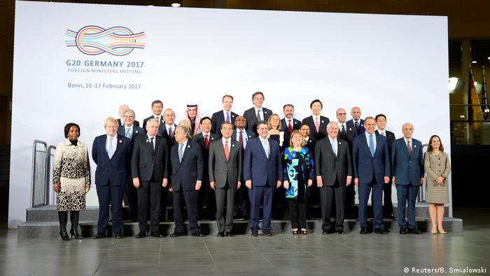 Deutschland G 20 Außenministertreffen in Bonn (Reuters/B. Smialowski)