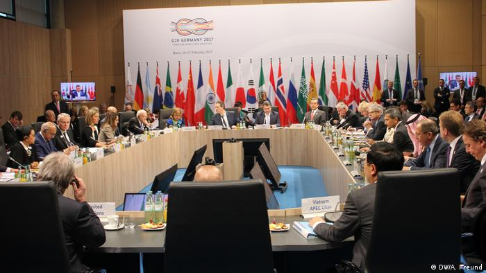 Deutschland G 20 Außenministertreffen in Bonn (DW/A. Freund)