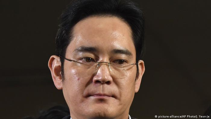Südkorea Lee Jae-yong in Seoul (picture-alliance/AP Photo/J. Yeon-Je)