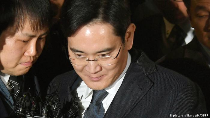 Südkorea Lee Jae-yong, Samsung Electronics (picture-alliance/MAXPPP)