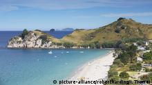 Neuseeland Sandstrand Tourismus (picture-alliance/robertharding/I. Trower)