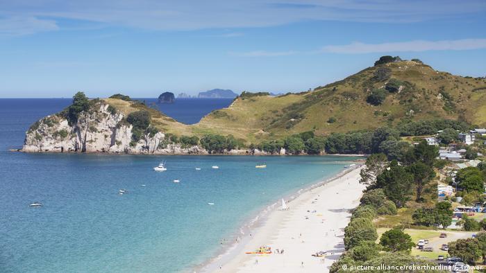 Neuseeland Sandstrand Tourismus