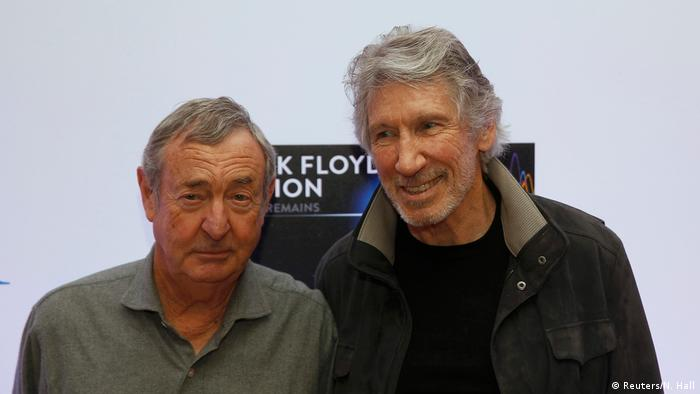 Nick Mason and Roger Waters at the Pink Floyd exhibition (Reuters/N. Hall)
