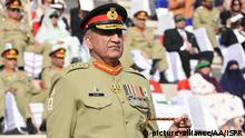Pakistan's army chief, Qamar Javed Bajwa (picture-alliance/AA/ISPR)