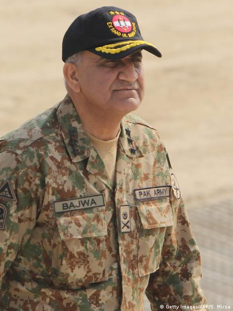 Pakistan Armee chef Qamar Javed Bajwa