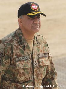 Pakistan Armee chef Qamar Javed Bajwa (Getty Images/AFP/S. Mirza)