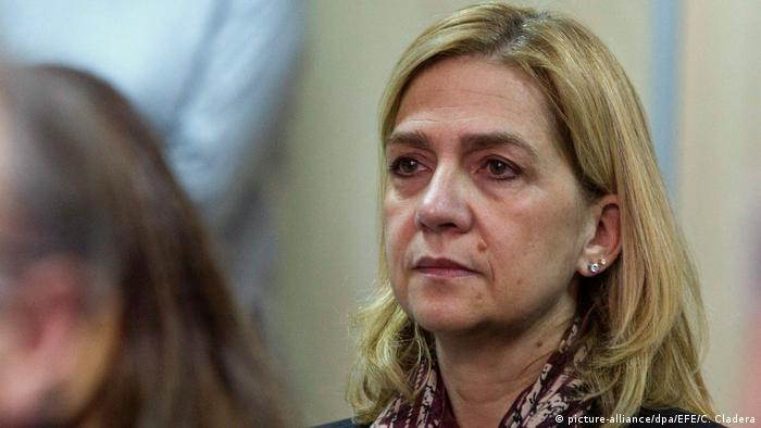 Spanish princess found not guilty, husband sentenced to six