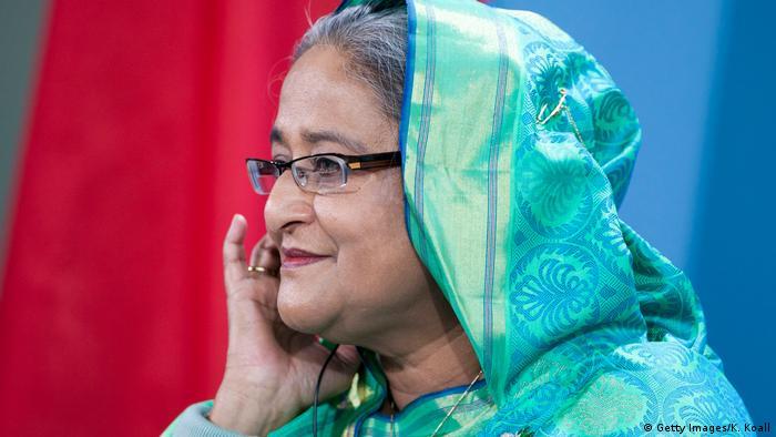Berlin Merkel mit Bangladeschs Ministerpräsidentin Sheikh Hasina