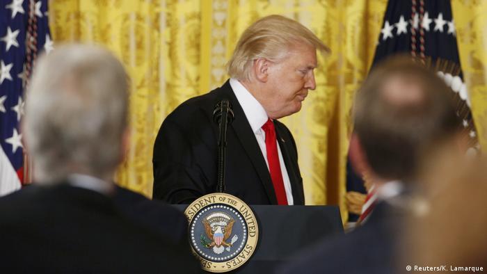 Donald Trump încheie conferința de presă la Casa Albă