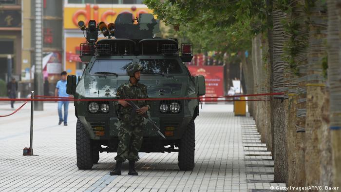 CHINA-XINJIANG-UNREST