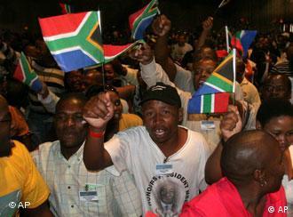 Süd Afrika ANC-Dissidententreffen in Johannesburg (AP)