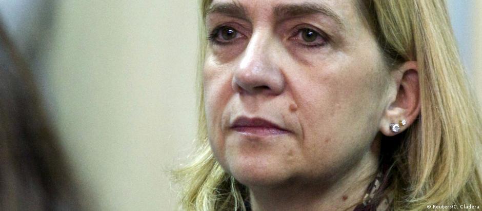 Infanta Cristina insiste na inocência do marido