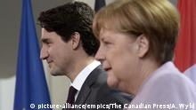Deutschland Merkel und Trudeau PK im Bundeskanzleramt in Berlin (picture-alliance/empics/The Canadian Press/A. Wyld)