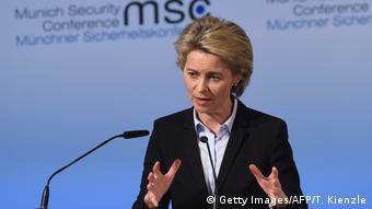 Урсула фон дер Ляєн не проти збільшити оборонні витрати до двох відсотків ВВП