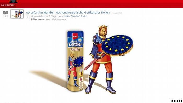 Screenshot reddit Martin Schulz ab sofort im Handel hochenergetisch