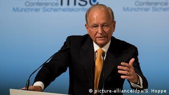 Ο διευθυντής της Διάσκεψης του Μονάχου Βόλφγκανγκ Ίσινγκερ